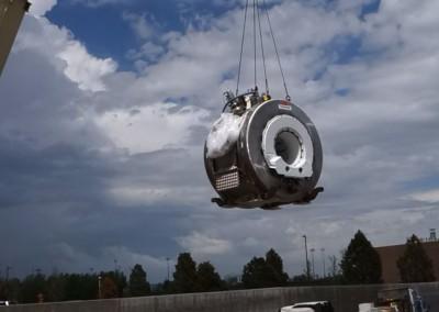 Toshiba Atlas 1.5T MRI Removal