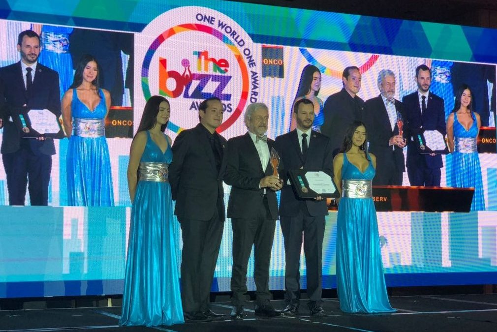 Oncoserv Wins a Bizz Award in Miami Beach